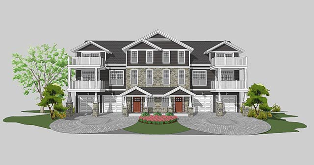 Charlevoix Pointe Building Rendering