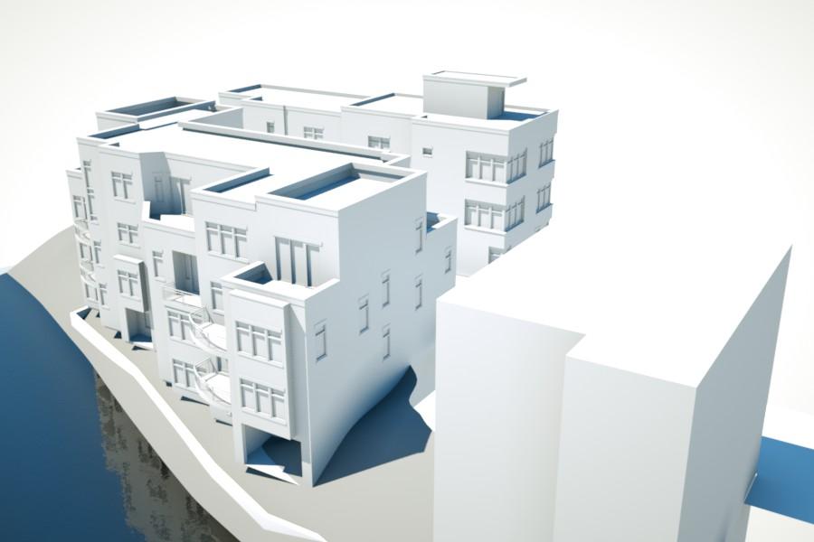 Uptown 3D Rendering