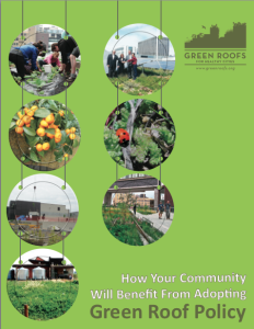 green roof policy