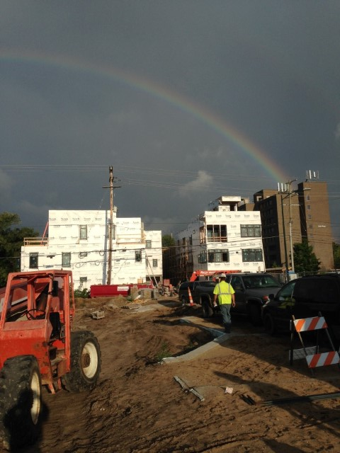 Rainbows, Bricks and Blocks